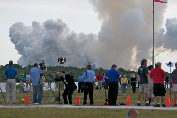 STS134 Launches