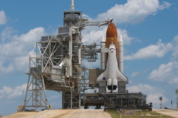 STS-134 RSS Rollback