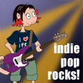 Indie Pop Rocks! on SomaFM, commercial-free, independent, alternative/undeground internet radio