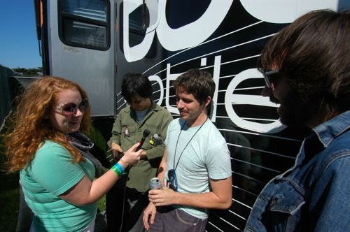 The Dodos being interviewed by SomaFM